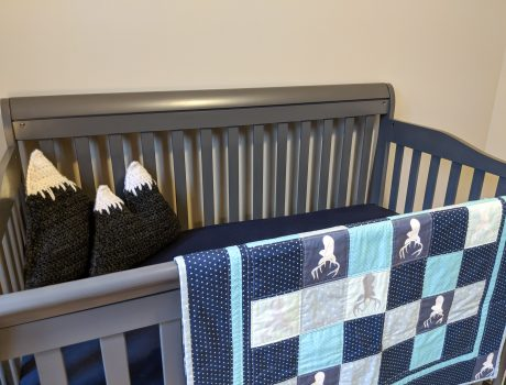Baby Boy's Woodland Nursery